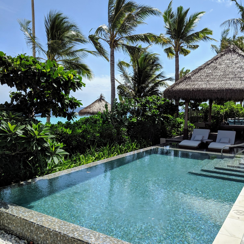 waldorf astoria maldives ithaafushi King Beach Villa with Pool Infinity Pool