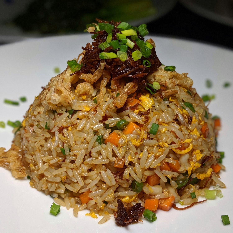 waldorf astoria maldives ithaafushi li long XO Fried Rice with Seafood