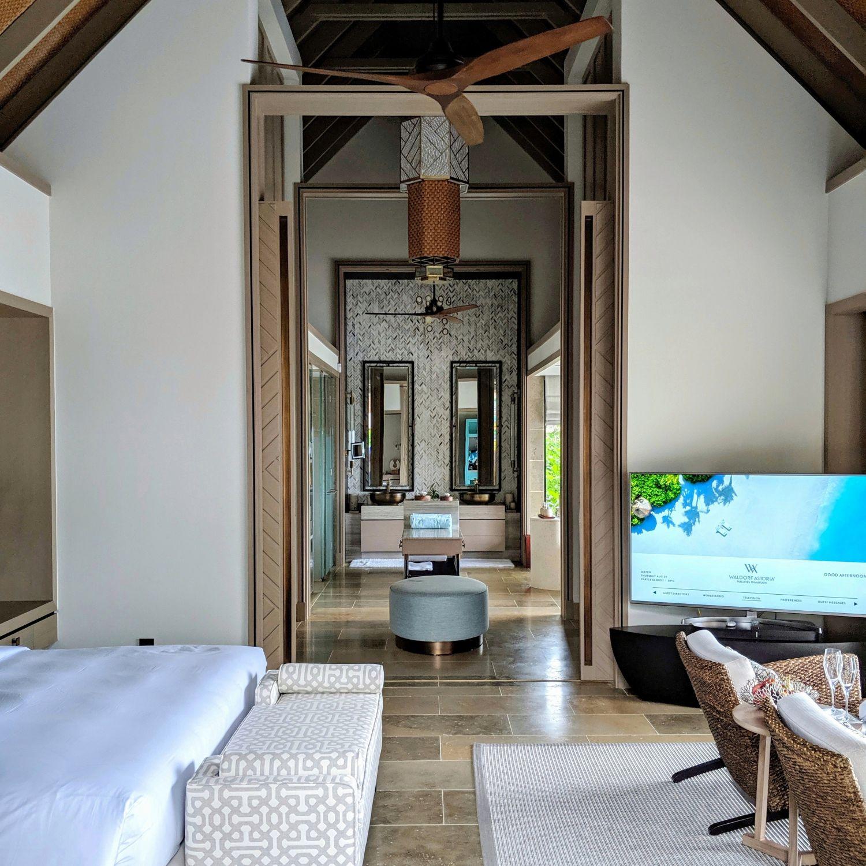 waldorf astoria maldives ithaafushi King Beach Villa with Pool