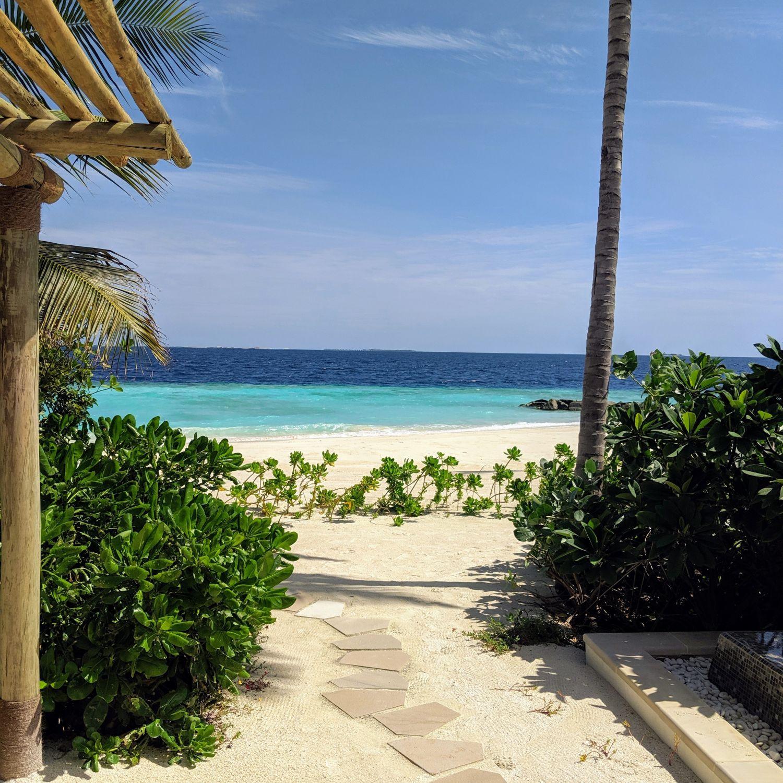 waldorf astoria maldives ithaafushi King Beach Villa with Pool Beach Access