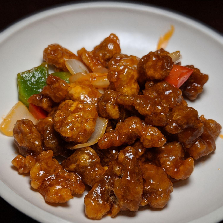 fairmont singapore szechuan court sweet & sour pork