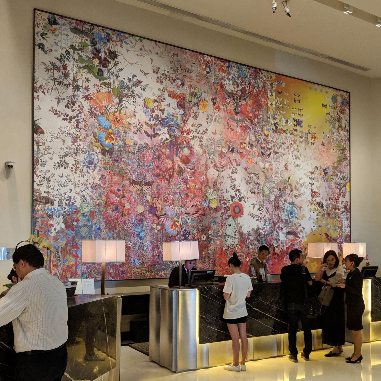 fairmont singapore lobby