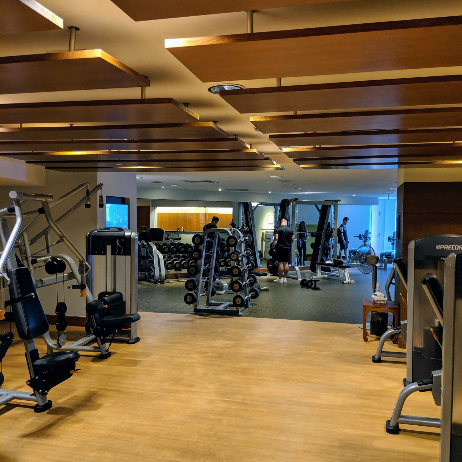 fairmont singapore fitness centre