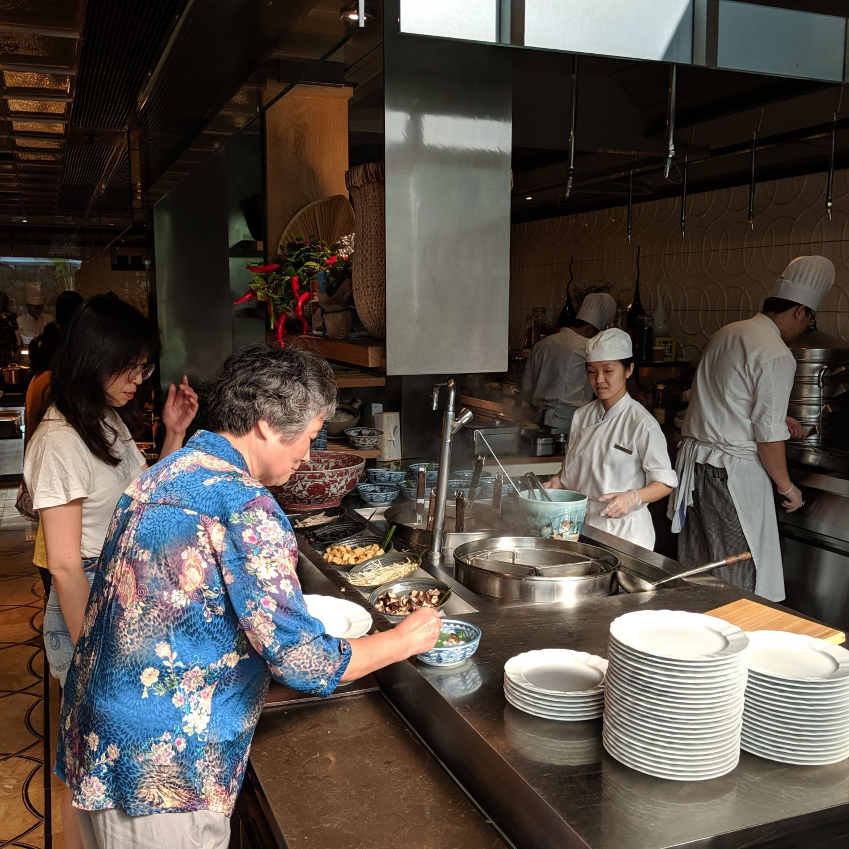 the ritz-carlton, millenia singapore colony breakfast