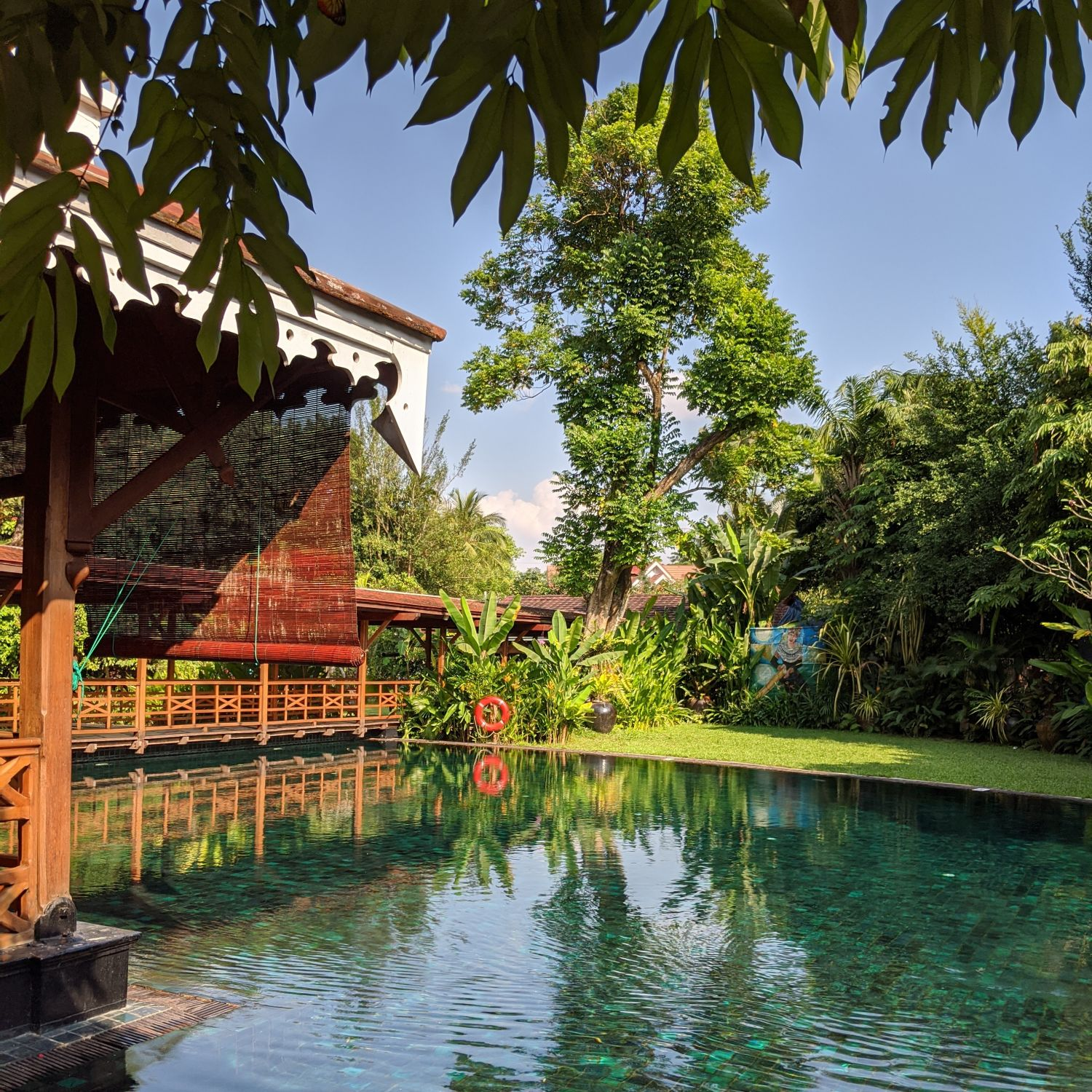 belmond governor's residence yangon swimming pool