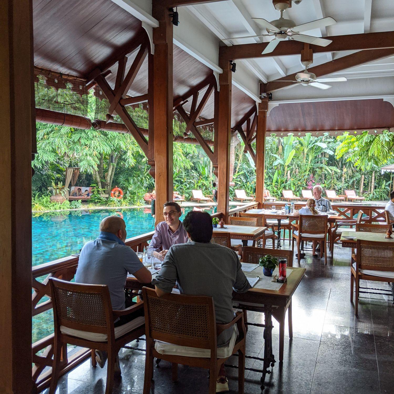 belmond governor's residence yangon mandalay restaurant
