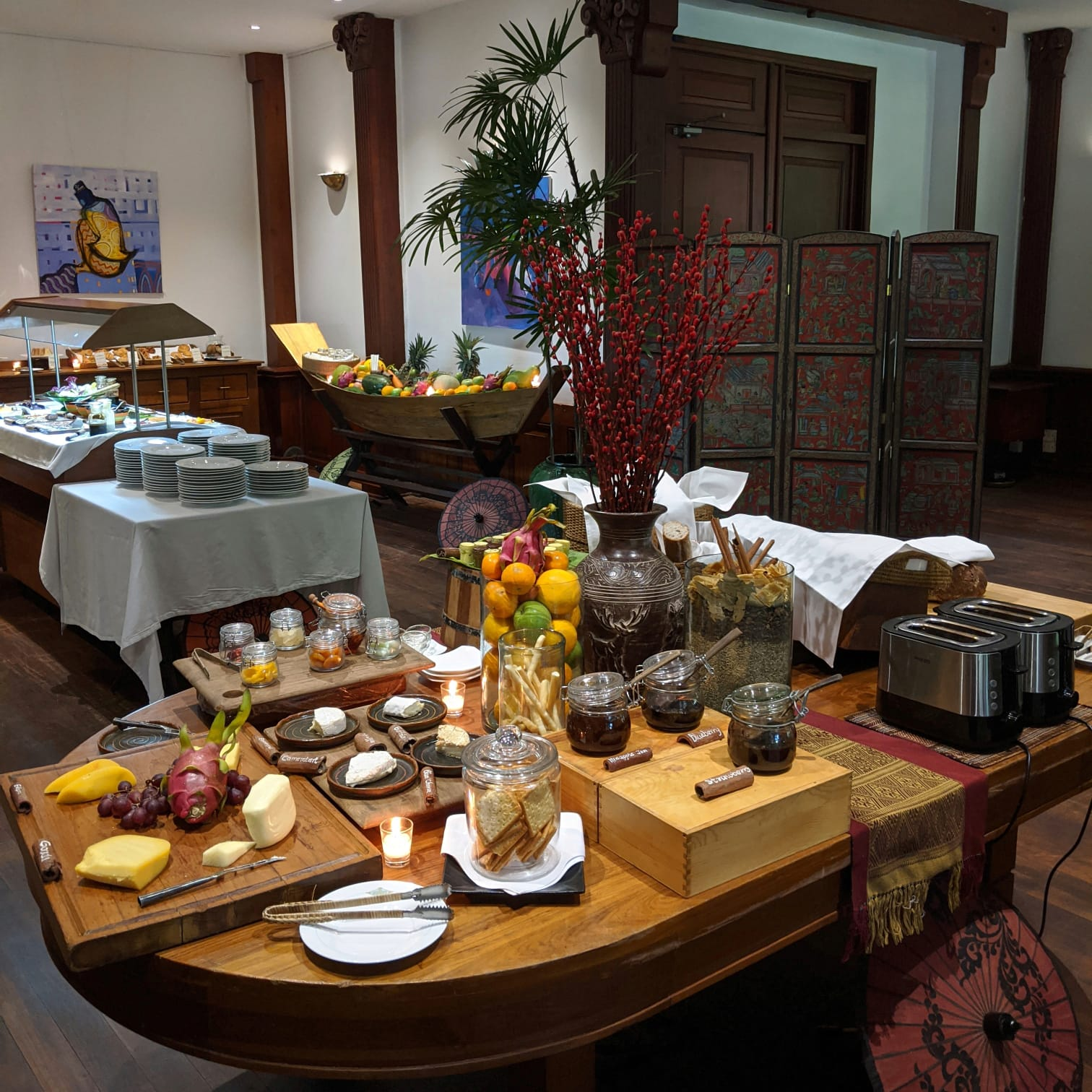 belmond governor's residence yangon mandalay restaurant breakfast buffet