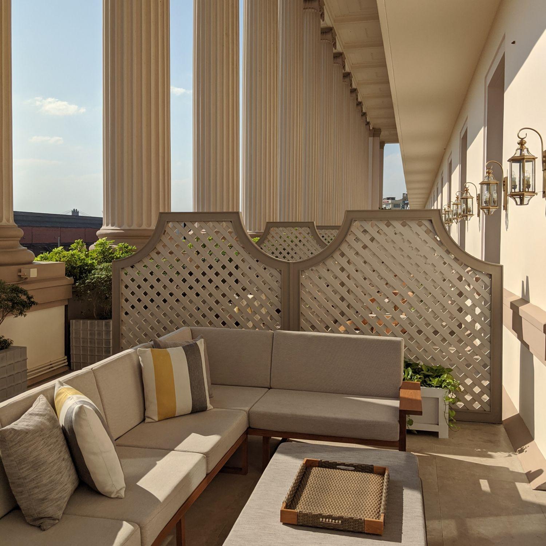 rosewood yangon rosewood suite terrace
