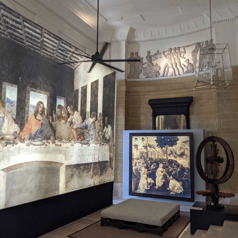 rosewood yangon Opera Omnia Leonardo Exhibition