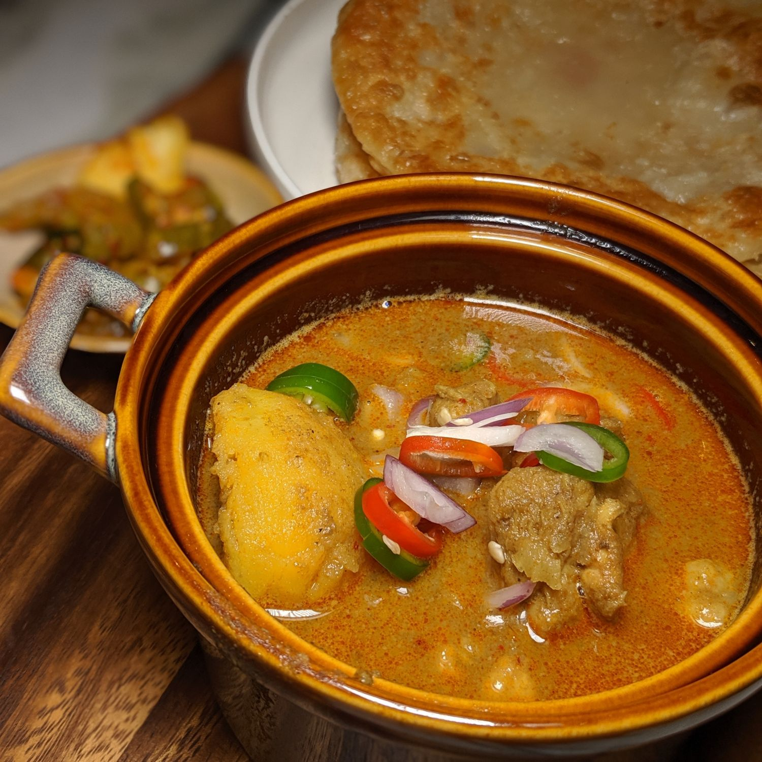 the warehouse hotel po restaurant colonial chicken curry