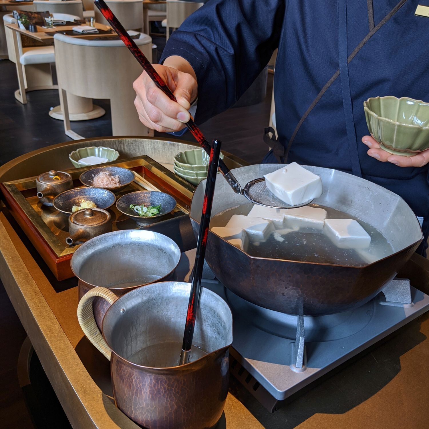 aman kyoto the living pavilion kyoto japanese breakfast