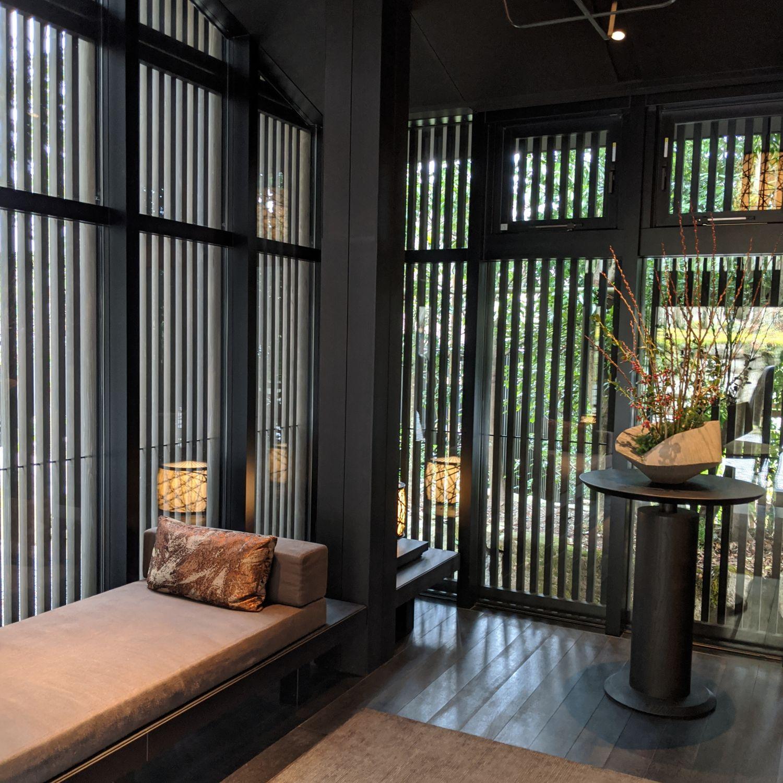aman kyoto arrival pavilion