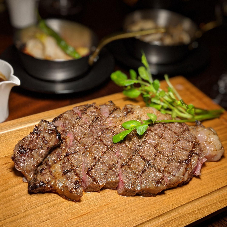kyoto yura hotel mgallery 54th Station Grill kagawa olive beef sirloin