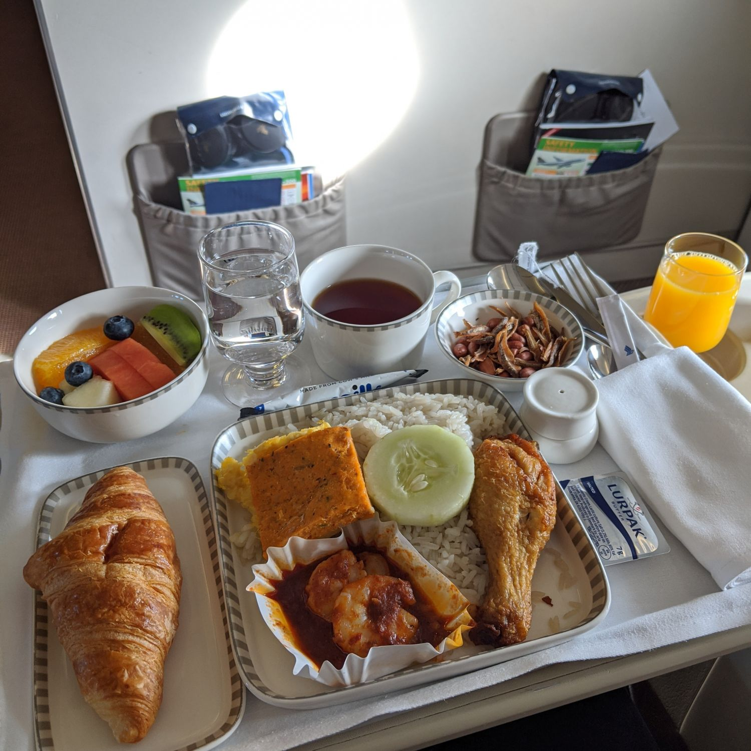 Regional Business Class on Singapore Airlines SQ998 Airbus A330-300 Book the Cook Nasi Lemak
