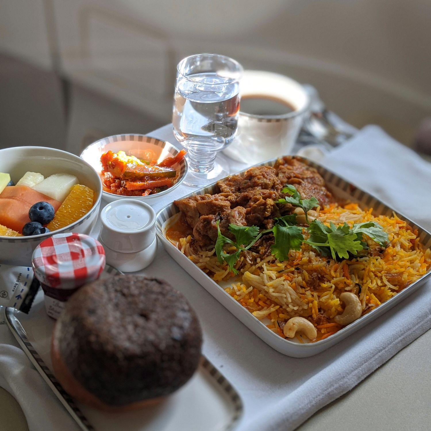 Regional Business Class on Singapore Airlines SQ998 Airbus A330-300 Book the Cook Nasi Briyani