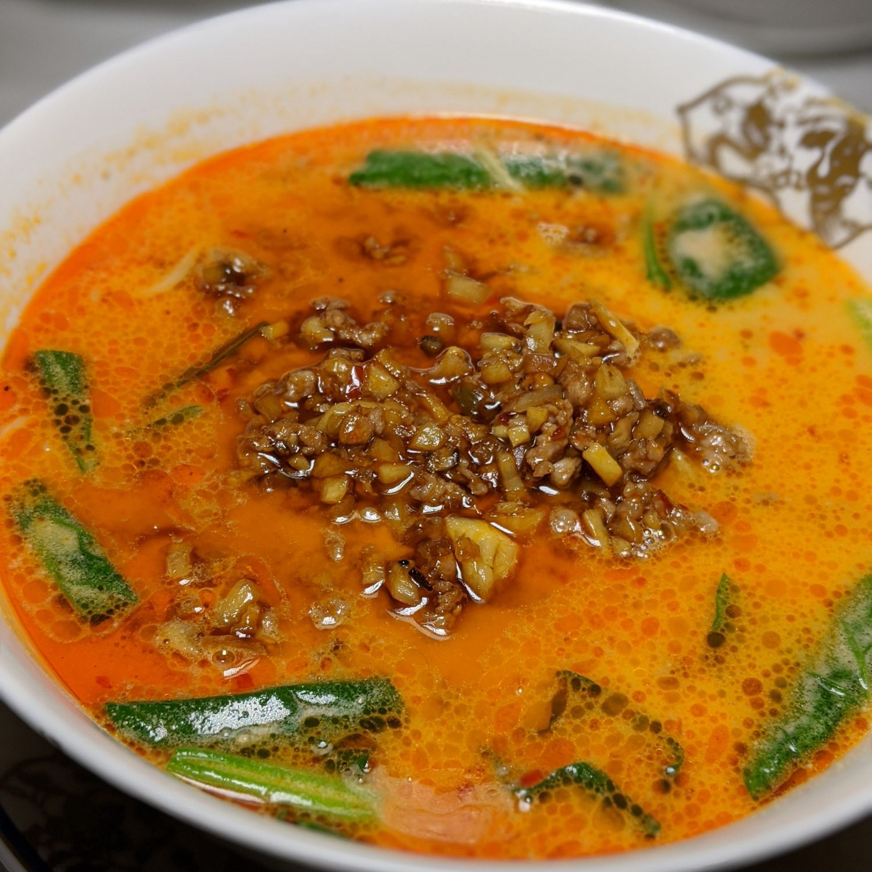 the okura tokyo toh-ka-lin spicy sesame noodle soup