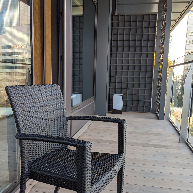 the okura tokyo heritage corner king with balcony balcony