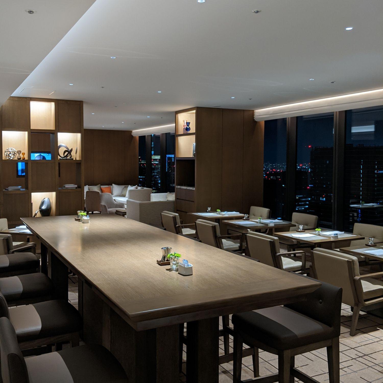 the okura tokyo club lounge