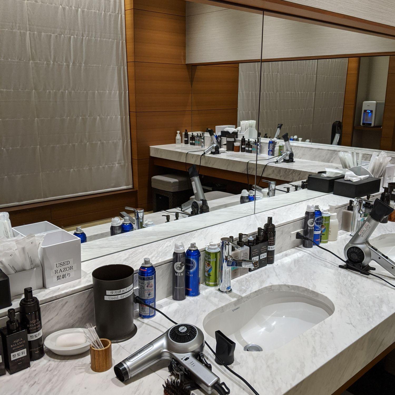 the okura tokyo Okura Fitness & Spa Gentlemen's Locker Room