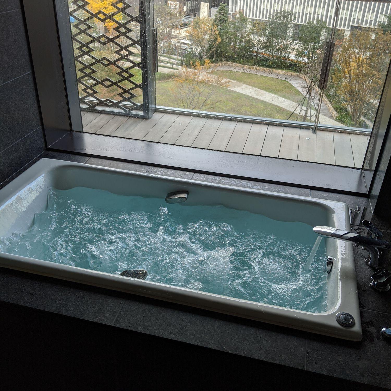 the okura tokyo heritage corner king with balcony jet bath