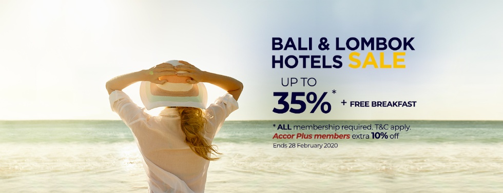 Accor ALL Bali & Lombok Hotels Sale