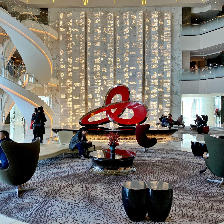 four seasons hotel guangzhou lobby