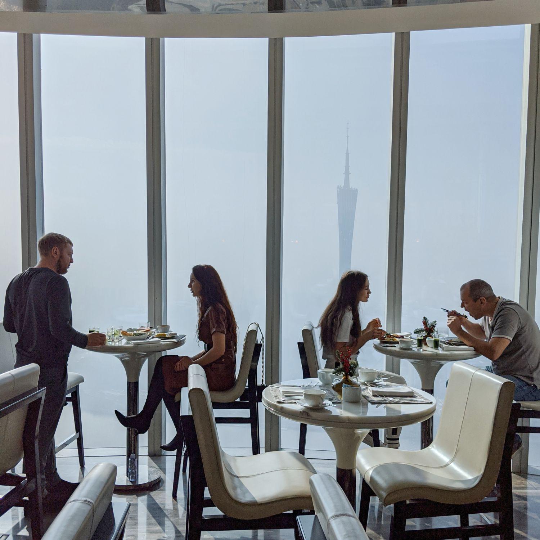 four seasons hotel guangzhou caffe mondo breakfast