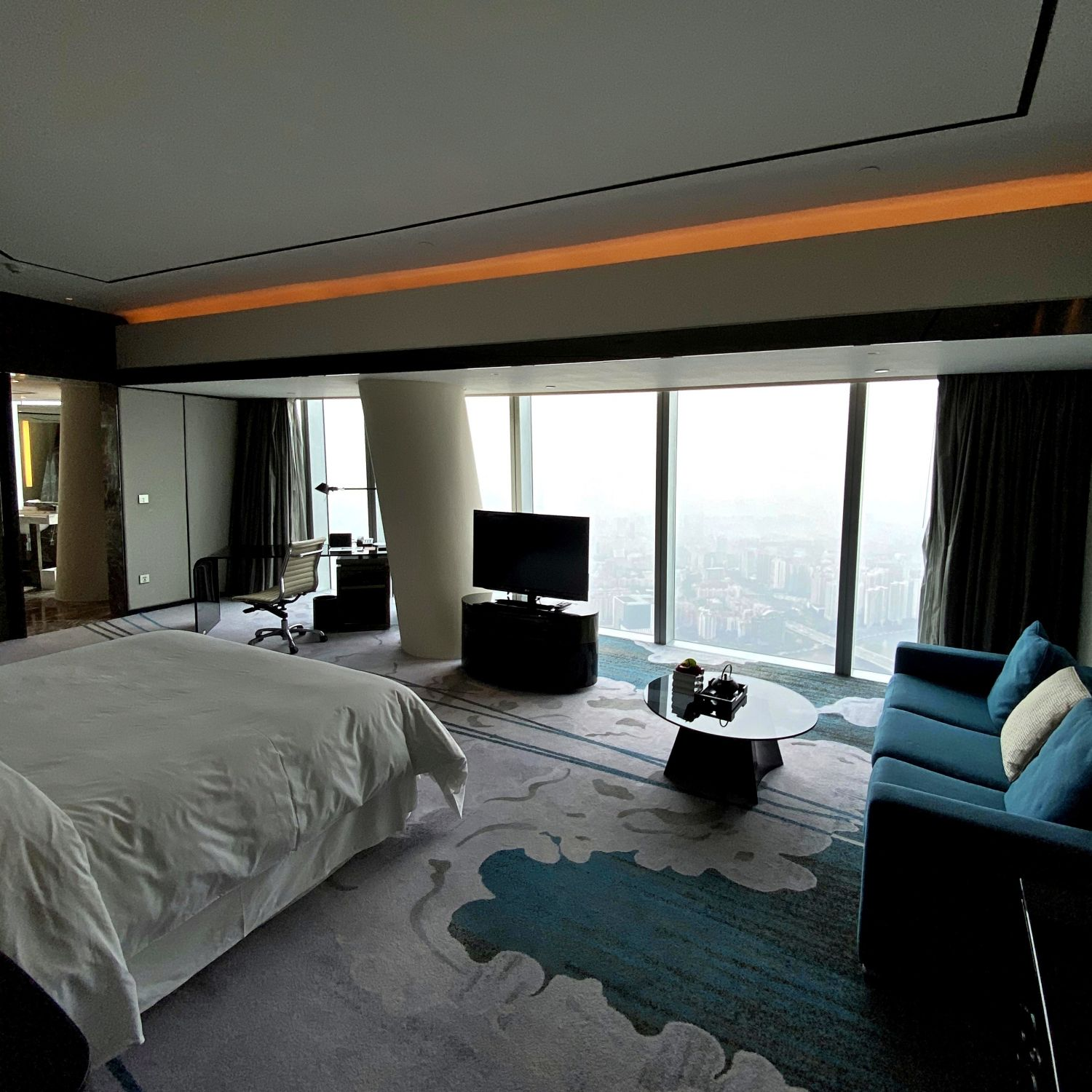 four seasons hotel guangzhou four seasons hotel guangzhou club premier room canton tower view