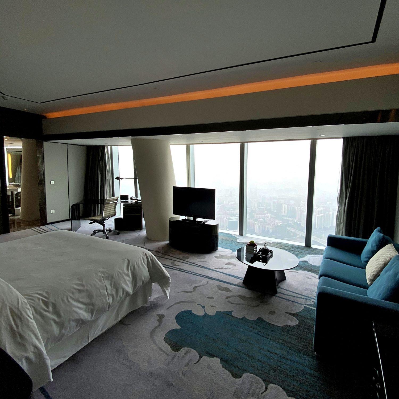 four seasons hotel guangzhou four seasons hotel guangzhou club premier room canton tower view