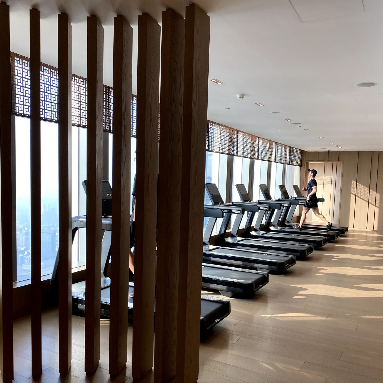 rosewood guangzhou fitness studio