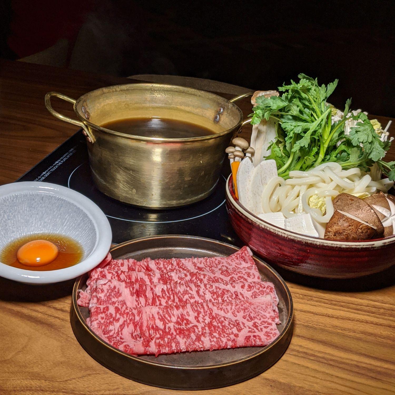 rosewood guangzhou black iron australian wagyu beef sukiyaki