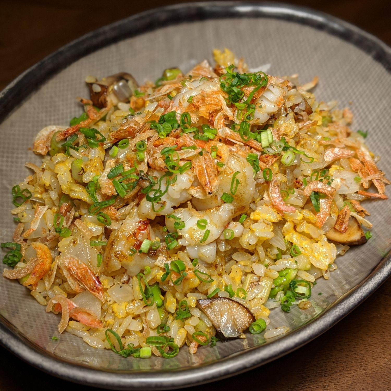 rosewood guangzhou black iron sakura shrimp rice