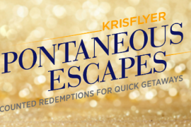 KrisFlyer Spontaneous Escapes Feb 2020