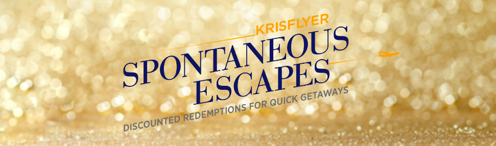KrisFlyer Spontaneous Escapes Feb 2020