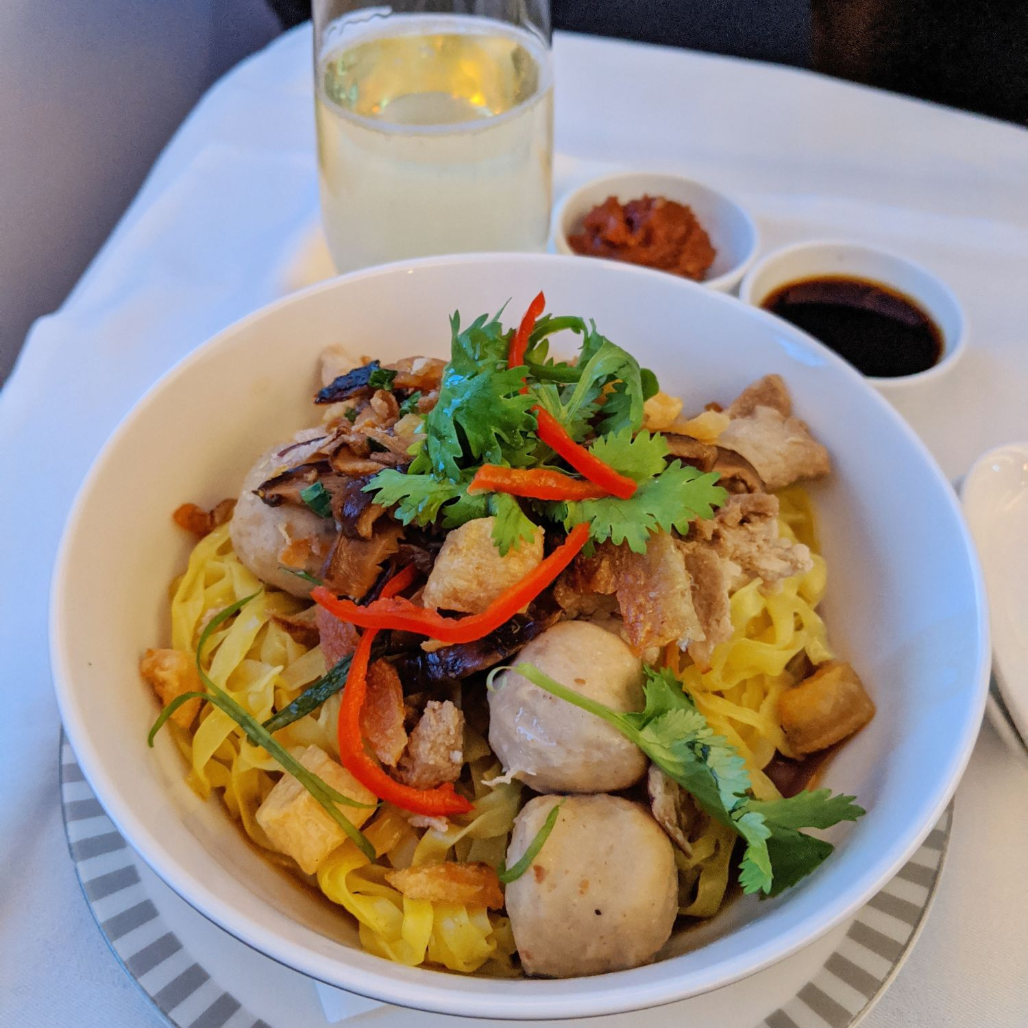 Regional Business Class on Singapore Airlines SQ850 Boeing 787-10 Book the Cook Dry Bak Chor Mee