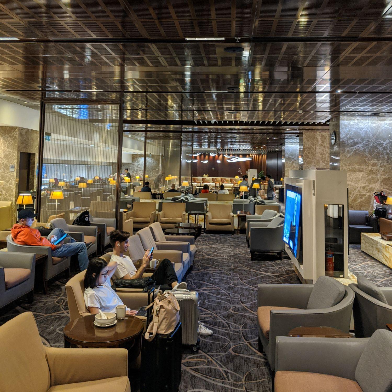 SilverKris Business Class Lounge Singapore Changi Airport Terminal 3 Rest Area