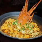 "mott 32 singapore Signature Lobster ""Ma Po Tofu"""