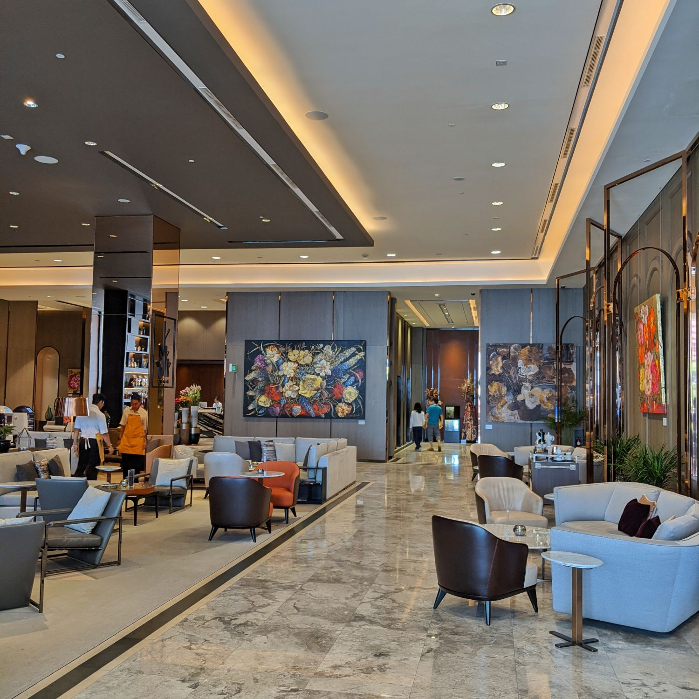 sofitel singapore city centre 5F lobby