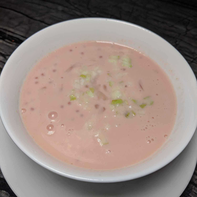 mott 32 singapore Sweetened Guava Soup, Sago, Pomelo