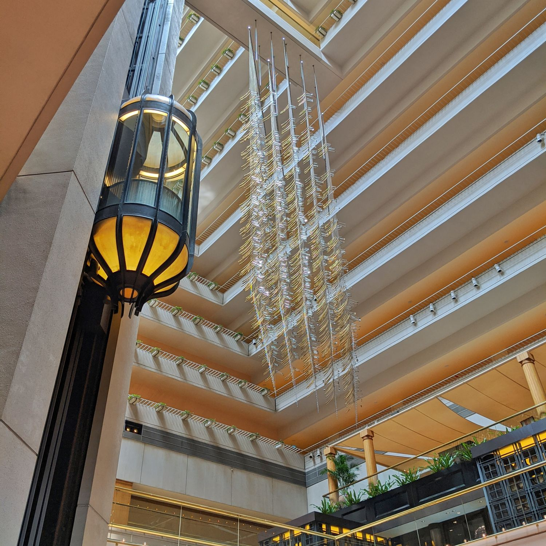 regent singapore lobby atrium