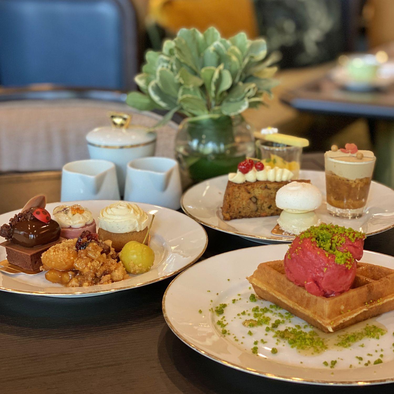 regent singapore english garden afternoon tea tea lounge sweets