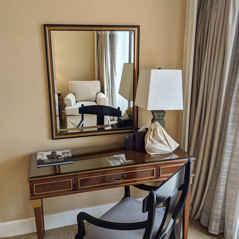 regent singapore regent club executive suite bedroom dresser