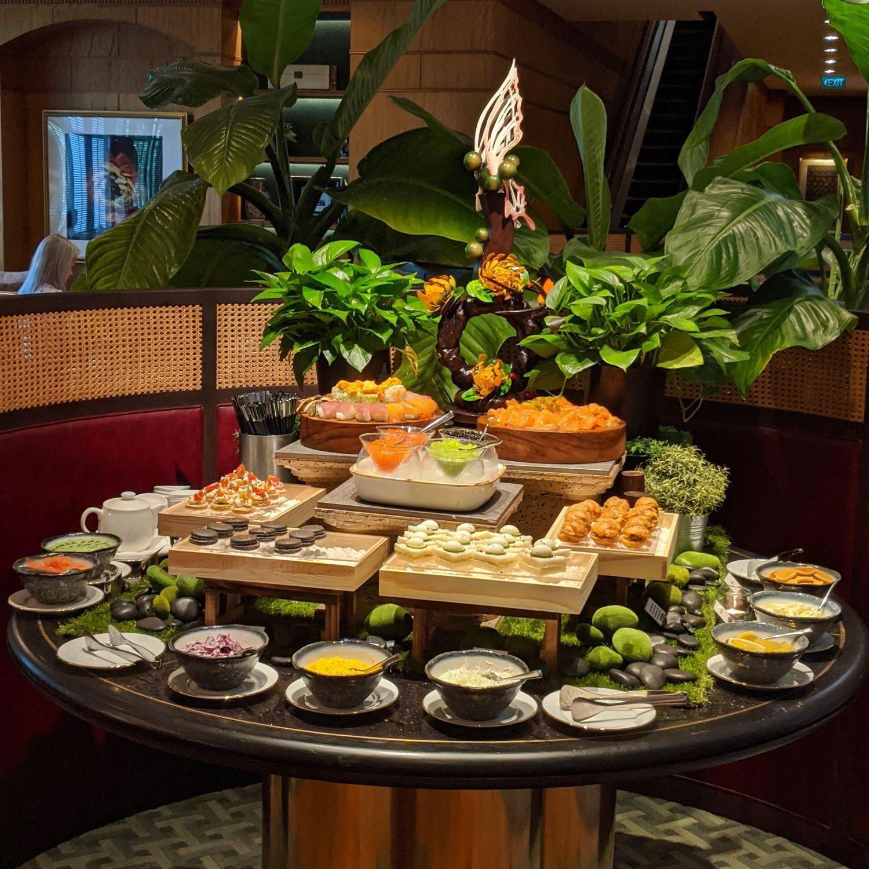regent singapore english garden afternoon tea tea lounge