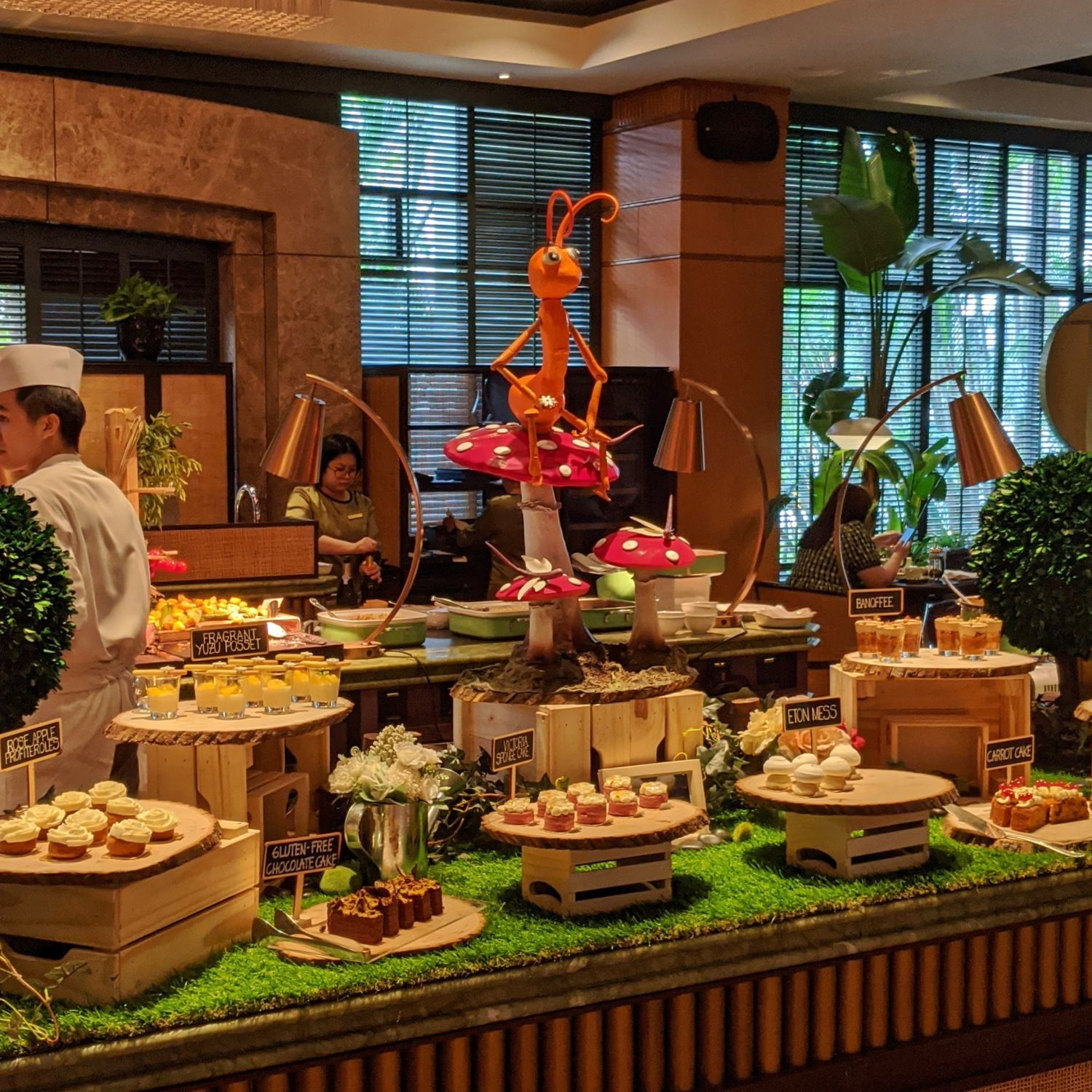regent singapore english garden afternoon tea tea lounge sweets