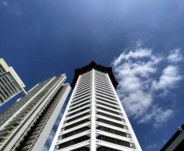 singapore marriott tang plaza hotel external facade