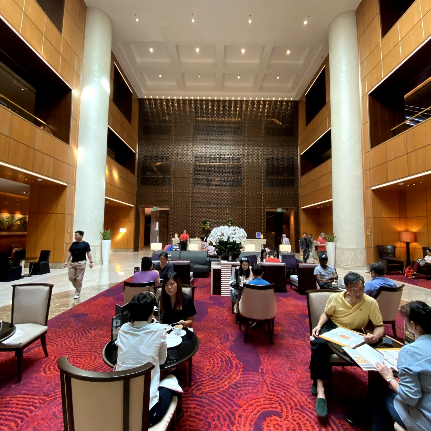 singapore marriott tang plaza hotel lobby lounge