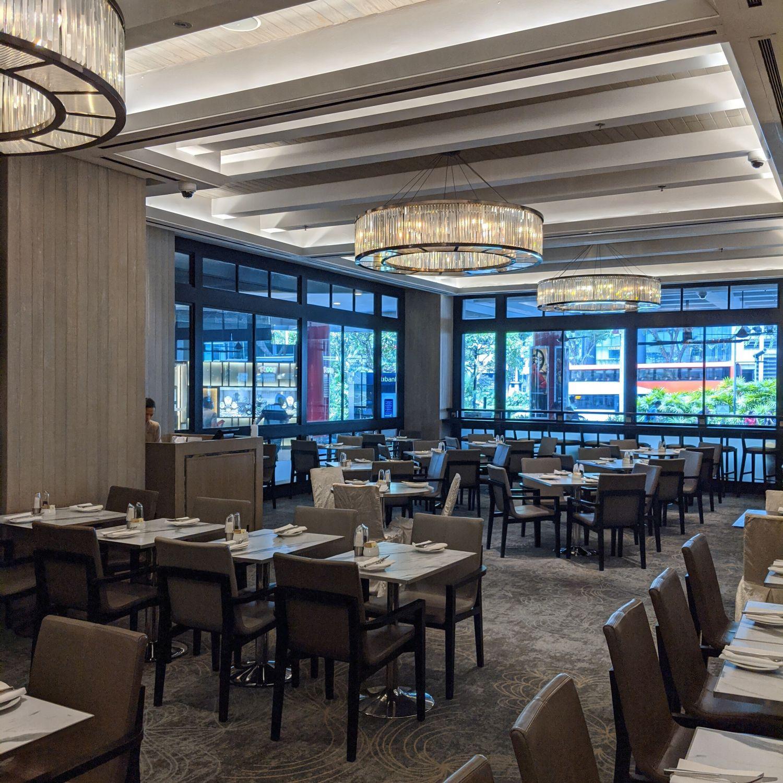 singapore marriott tang plaza hotel marriott cafe