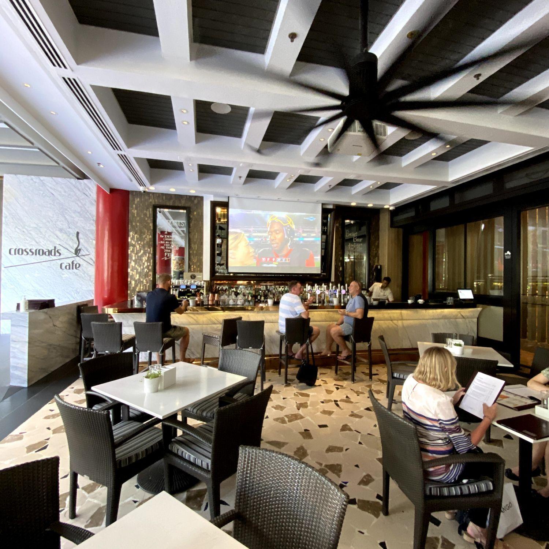 singapore marriott tang plaza hotel crossroads cafe
