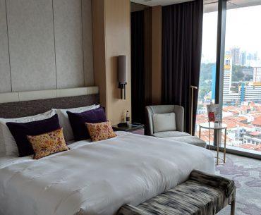 sofitel singapore city centre prestige suite bedroom