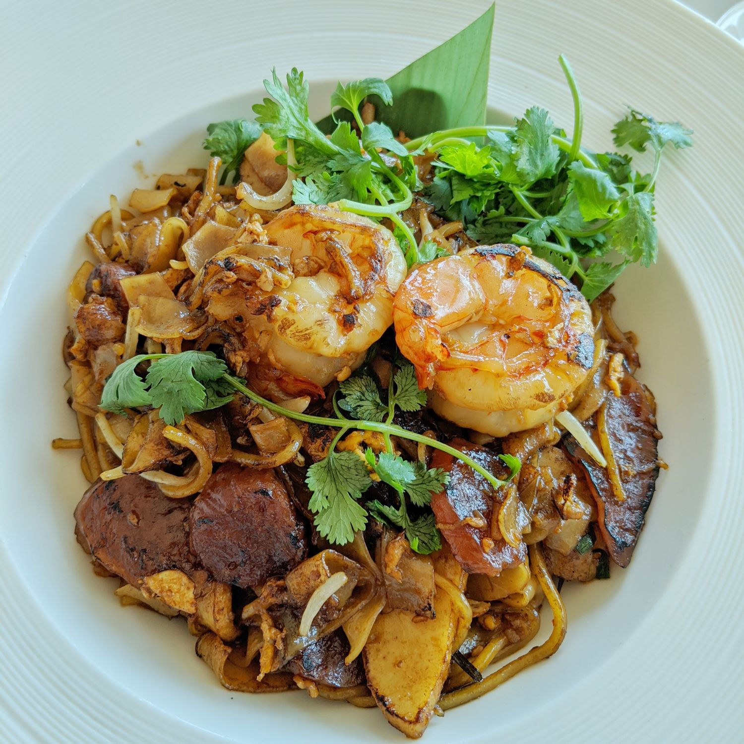the st. regis singapore in-room dining menu penang char kway teow